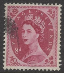 STAMP STATION PERTH GB #302 QEII Definitive  Used 1952-54