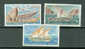 SOMALI COAST SAILBOATS #C32-34...SET...MNH...$28.75