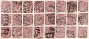 GREAT BRITAIN SC 79 CANCELS SOUND x24 $318 SCV MOUNTED #2