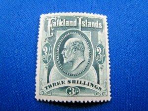 FALKLAND ISLANDS  1904  -  SCOTT # 28  -  MLH           (Hf1)