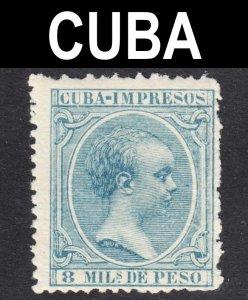 Cuba Scott P30 Fine mint OG NH. Key issue.