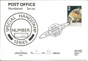 Special Handstamp Series Cover #21 British Astronomical Society 1984 - Z9017