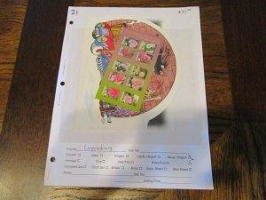 Luxembourg Souvenir Sheet Lot Mint Never Hinged- (KB7) #1