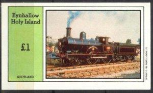 {E047} Eynhallow Scotland Trains (4) S/S MNH Cinderella !!
