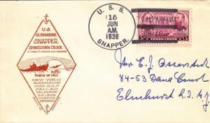 1932, USS Snapper, SS-185, Shakedown Cruise (N5213)