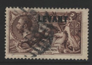 Great Britain Office in Turkey Sc#54 Used