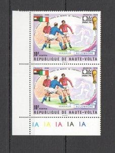 I0327 UPPER VOLTA SPORT FOOTBALL WORLD CUP MUNICH 1974 MNH