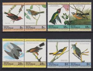 Tuvalu Niutao 1985 Birds 25-28 MNH