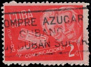 Cuba - Scott 397 - Used - Poor Centering