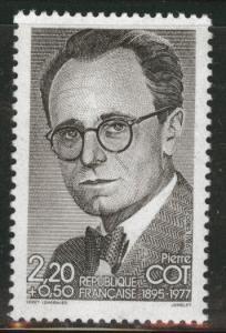 FRANCE Scott B580 MNH** 1986 red cross Semi Postal Cot stamp