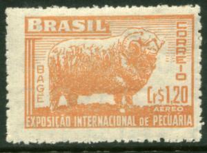 Brazil C72, 1.20cr Merino Ram, Livestock Show. Mint NH (490)