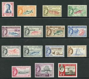 Turks and Caicos SG237/253 and 253 Set Fresh U/M