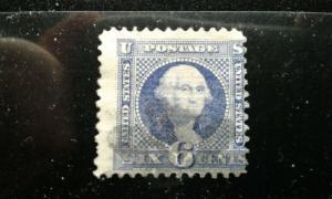 US #115 used thin e195.4248