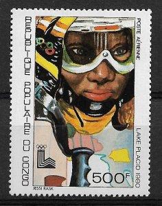 1979 Congo C265  500F Lake Placid Olympics MNH