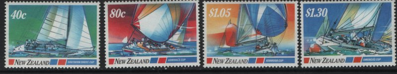 NEW ZEALAND 867-870    MNH     SAILING SHIPS SET