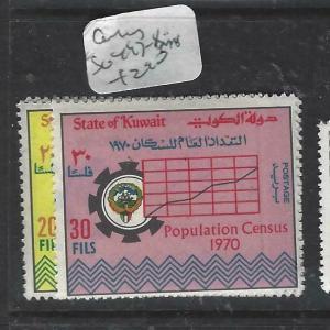 KUWAIT  (P2705B)  CENSUS  SG 497-8   MNH