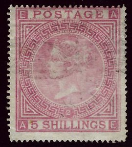 Great Britain SC#57 Used Fine Plate 2 SCV$1200.00...Real Deal!!