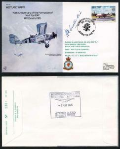 B17c 70th Ann of the Formation of No.11 Squadron Signed H. Constantine (U)