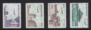 Korea C27 - C30 set complete mint never hinged nice color cv $ 522 ! see pic !