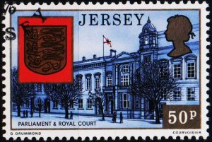 Jersey. 1976 50p S.G.153 Fine Used