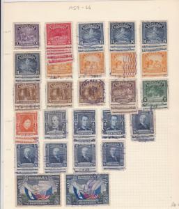 Salvador 1959-66  Stamps Ref 15546