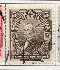 Ecuador 1911  Early Issue Fine Used 5c. 137992