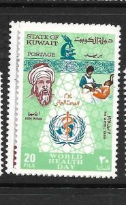 KUWAIT (P0803B)   WORLD HEALTH  DAY SG 447-8  MNH