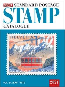 2021 Scott Standard Postage Stamp Catalogue Worldwide (SAN-Z) Volume 6