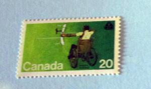 Canada - 694, MNH Complete. Archer; Disabled. SCV - $0.60