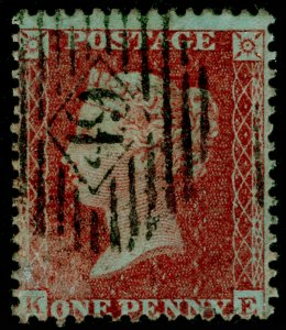 SG24, 1d red-brown PLATE 20, SC14 DIE II, FINE USED. Cat £400. KE