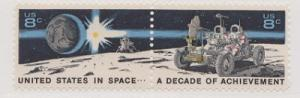 1434 - 1435 Decade in Space Se-tenant pair F-VF MNH