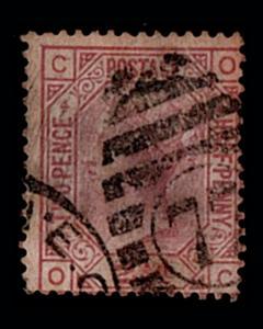 VINTAGE: GREAT BRITAIN 1875 USD SCOTT # 67 $ 60 LOT # VSWGB1875-P29