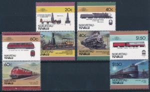 [63587] Tuvalu Nukufetau 1986 Railway Train Eisenbahn Chemin de Fer  MNH