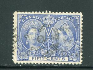 Canada #60  Used  VF    -  Lakeshore Philatelics