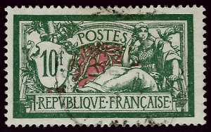France Sc #131 Used VF SCV$16.50...French Stamps are Iconic!