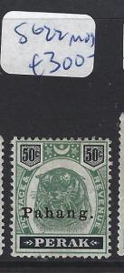 MALAYA  PAHANG  (P1412B) TIGER 50C  SG 22  MOG