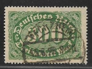 Germany Sc. # 201 Used Inflation wmk 126 L2