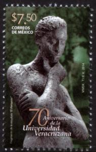 MEXICO 2884, 70th Anniv. University of Veracruz. MINT, NH. VF,