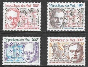 Mali (1979) - Scott # C368 - C371,   MNH