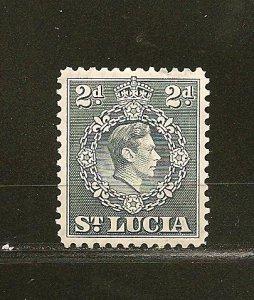 St. Lucia 114 King George VI Mint Hinged