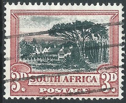 South Africa, Sc #38a, 3d Used