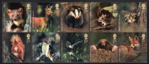 Great Britain 2237a - Mint-NH - Mammals (cv $13.50)