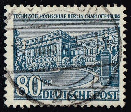 Germany #9N55 Polytechnic College; Used (0.75)
