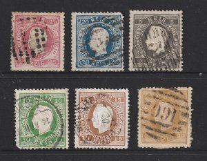 Portugal x 6 pre 1900 used