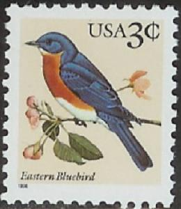 3033 Eastern Bluebird F-VF MNH single