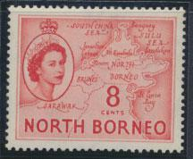 North Borneo SG 377 SC# 266 MLH   see details