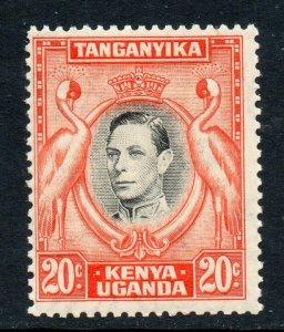 KUT 1938 KGVI 20c p13¼ SG 139 mint CV £45