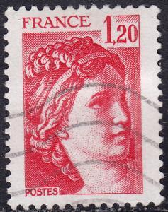 France 1572 USED 1978 Sabine 1.20Fr