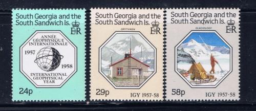 South Georgia 124-26 NH 1987 set