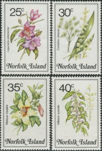Norfolk Island 1984 SG326-329 Flowers MNH